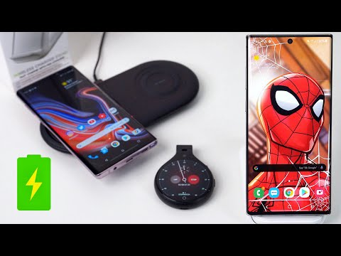 Galaxy Note 10 Plus vs Note 9 Wireless Charging Test