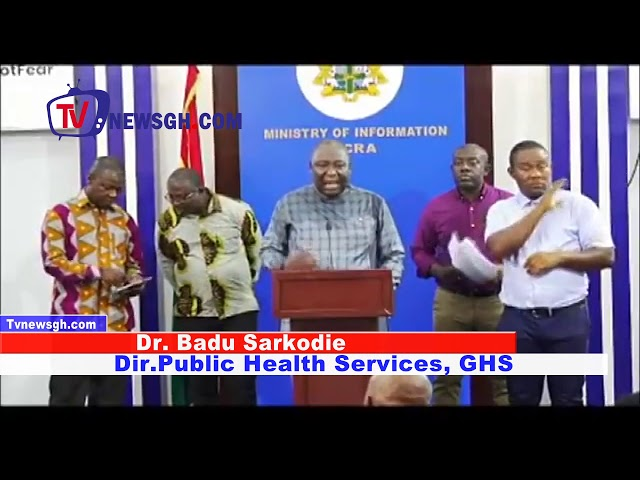 GHANA HAS RECORDED 6 CORONAVIRUS CASES AS AT 15TH MARCH, 2020-GHANA HEALTH SERVICES
