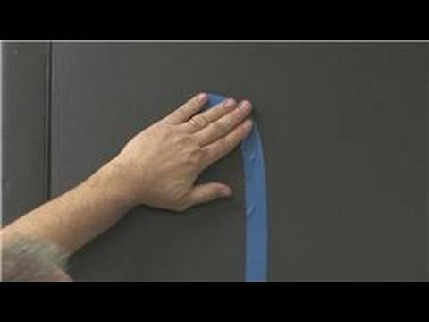 Art Supplies & Tips : How to Use Painting Tape