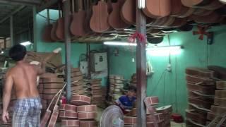 Xưởng làm đờn guitar ghita Phong Vân tại Hồ Chí Minh
