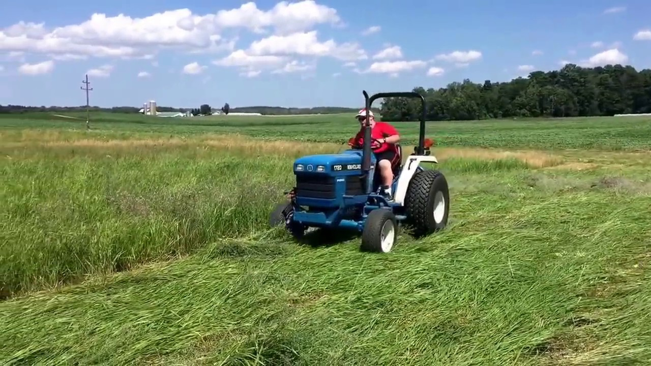 New Holland Tractor People : Ft ford pt sickle mower on a new holland