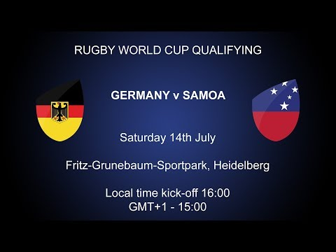 Rugby World Cup 2019 Qualifying PlayOff  Germany v Samoa
