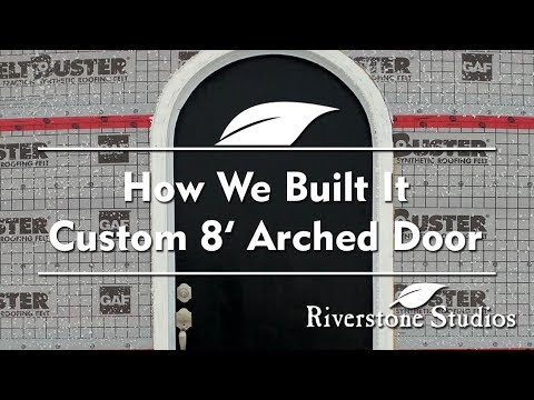 Building An Arched Door For Under $300