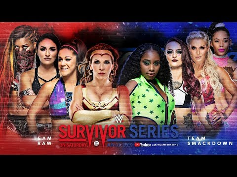 WWE 2K19 Universe Mode - Survivor Series - Traditional 4 on 4 Women's Elimination Tag Team Match from YouTube · Duration:  57 minutes 44 seconds