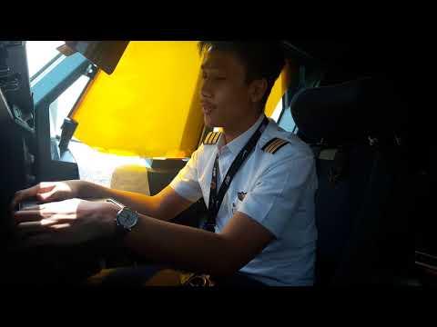 Cockpit A330-343 - Sitting adjustment