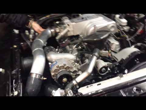 AWESOME supercharger and blowoff valve sound from my Fox Body Mustang