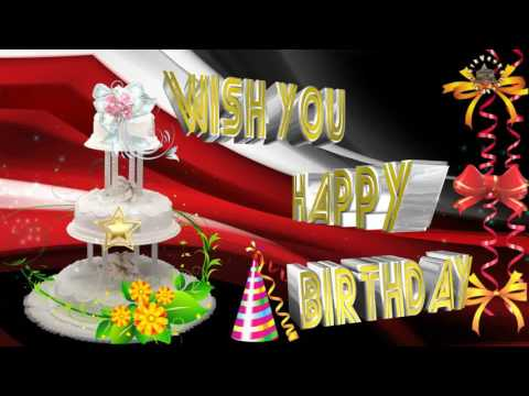 Happy Birthday Wishes, Quotes, Message, Images, Ecards, Greetings, Animation, Whatsapp Video