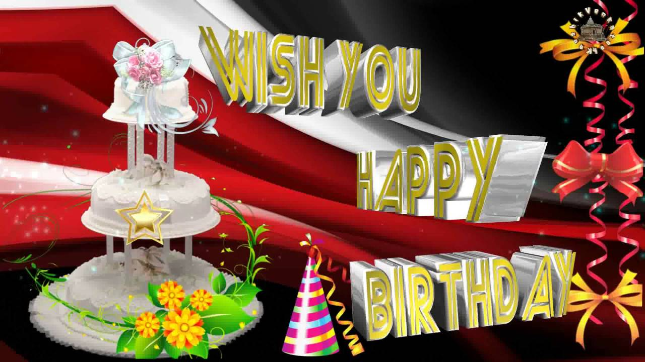 Happy Birthday Wishes Quotes Message Images Ecards Greetings Animation Whatsapp Video