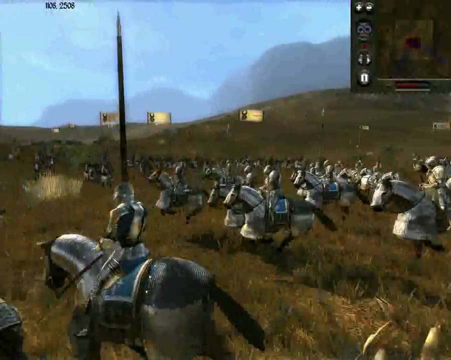 medieval 2  total war france cavalry vs the mongols cavalry