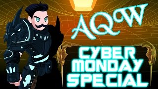 AQW Cyber Monday 2015 SPECIAL Feat Friends Fans Players