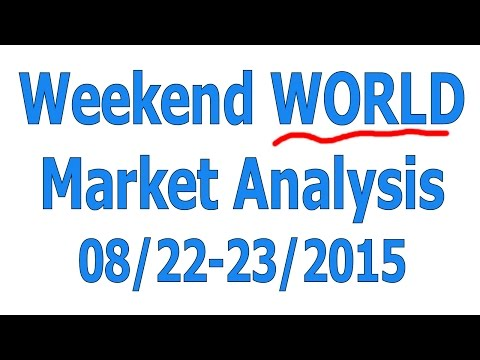 Weekend Major WORLD Market Analysis 08/22-23/2015