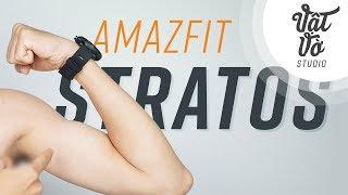 Đánh giá smartwatch Xiaomi Amafit Stratos