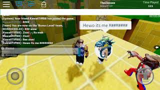 Roblox with Kyo and Tiff