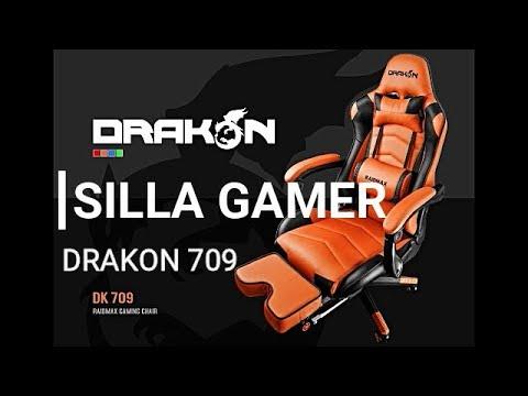 Silla gaming: Raidmax Drakon 709 análisis en español