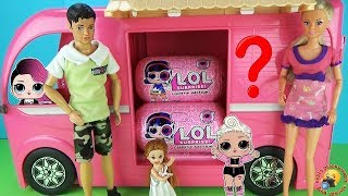 мультик семейка Штеффи на пикнике в Автодомике ПОДАРОК Редкая кукла ЛОЛ в КАПСУЛЕ Игрушки dolls