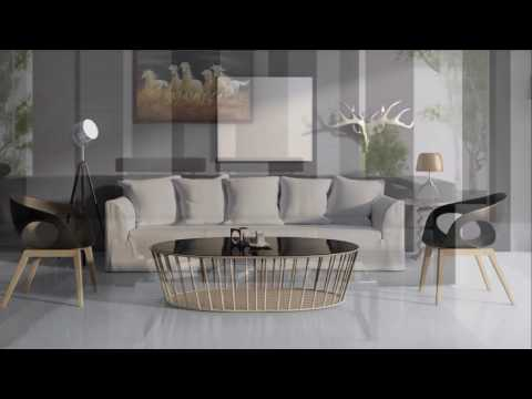 Ceramic Tiles Flooring And Wall Idea For Living Room   Latest Design    YouTube
