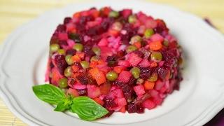 Как приготовить салат Винегрет  (Vinaigrette Salad)