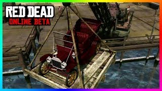 Red Dead Online - Cars, Silent Characters, Fast Travel, Safe Zones, Communication & MORE! (RDR2)