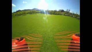 Modded Eachine Chaser88 demo flight (Courtesy Banggood)