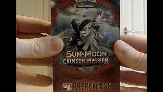 OPENING POKEMON Crimson Invasion Prerelease Box