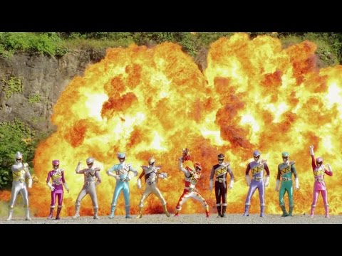 Power Rangers Dino Super Charge - Final Opening Theme