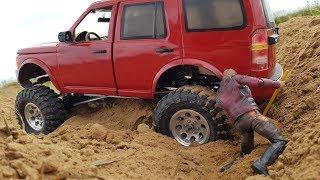ЗАСАДИЛИ Land Rover Discovery ... Обзор и ремонт в автосервисе...