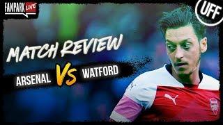Arsenal vs Watford - Goal Review - FanPark Live