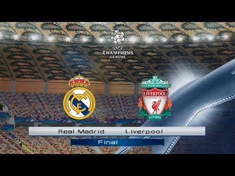 PES 6 | Real Madrid vs Liverpool | UEFA CHAMPIONS LEAGUE FINAL