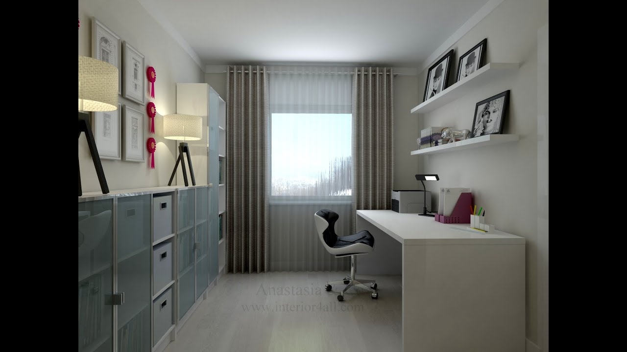 Arbeitszimmer design  Home Office Design Ideas/ Arbeitszimmer Design Ideen/ Дизайн ...