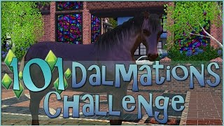 Our First Rescue Horse!! • Sims 3: 101 Dalmatians Challenge  - Episode #90