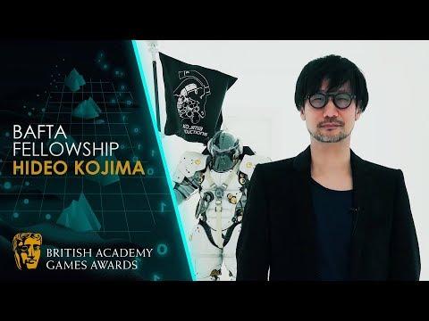 Hideo Kojima Receives the BAFTA Fellowship | BAFTA Games Awards 2020