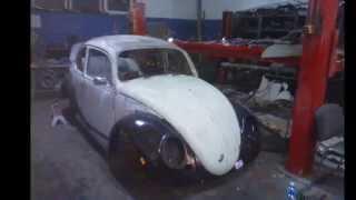 Vw Garbus, Kafer 1200 1964r odbudowa i renowacja Brodnica