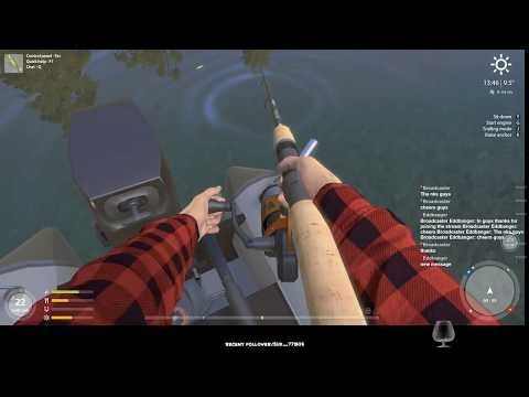 (Eng) Russian fishing 4  English-Lure fishing from boat-Trolling and TopWater 2 - Kuori Lake