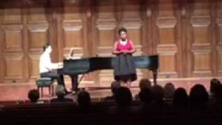 Student Performance: Jade sings Deep River by Moses Hogan