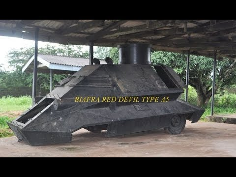 Biafra War : Homemade Weapons & Tanks ( 1967 to 1970 )
