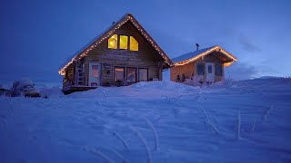 Welcome to My Off Grid Alaskan Log Cabin