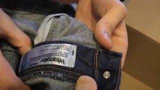 Джинсы Wrangler 47MWZ 36 MWZ куртка и рубашка