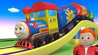 Thomas - Trains for Kids - Thomas The Train - Cartoon Cartoon - Toy - Toy Trains - कार्टून - Cars