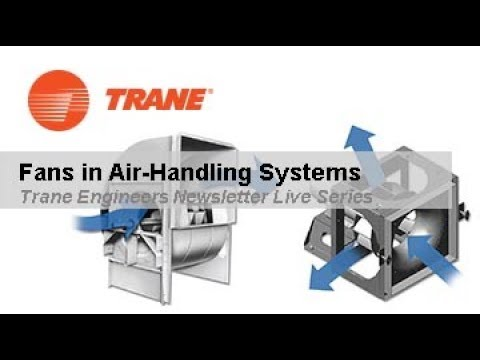 Trane Engineers Newsletter LIVE: Fans In Air-Handling Systems