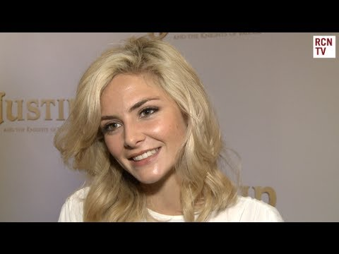 Tamsin Egerton  Justin And The Knights Of Valour Premiere