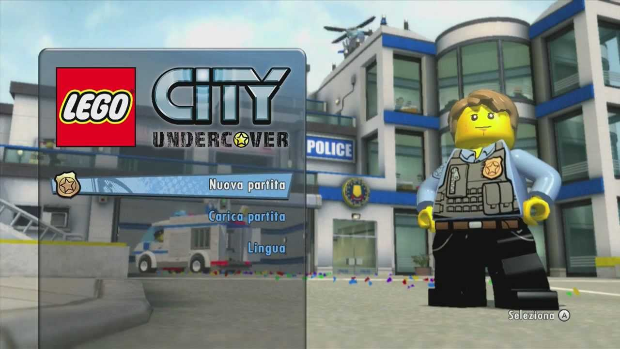 Lego City Undercover Walkthrough 1 Parte Ita Youtube