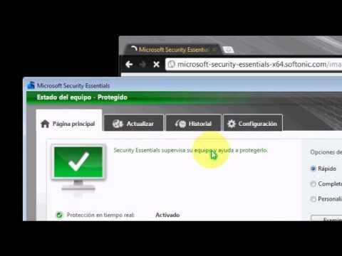 Descargar el Mejor Antivirus Para Windows 7 (Microsoft Security Essentials)