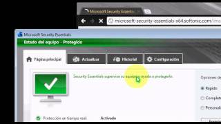 Descargar el Mejor Antivirus Para Windows 7 (Microsoft Security Essentials)