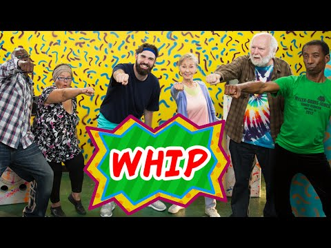 Old People Learn The Whip Dance