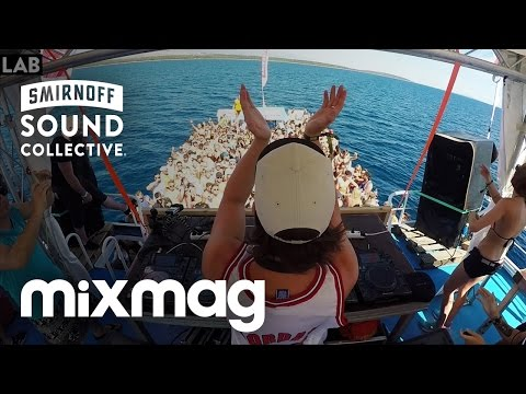 SONNY FODERA in The Lab SmirnoffHouseboat