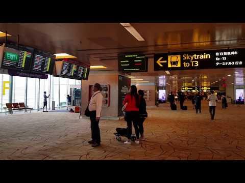 Singapore Changi Airport- Mamta Sachdeva (Cabin Crew/Air hostess/Flight attendant travel)
