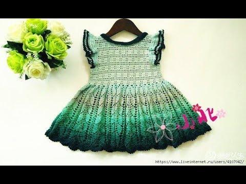 Crochet Patterns| Free |crochet baby dress| 2669