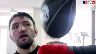 HUGHIE FURY IN CAMP: LOOKS AHEAD TO SEXTON CLASH, REFLECTS ON PARKER DEFEAT
