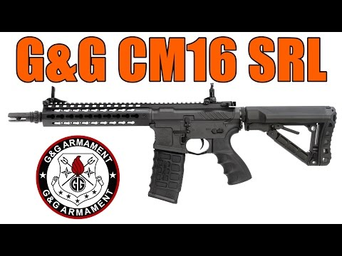 AIRSOFT | REVIEW | TBC | G&G CM16 SRL ( ENGLISH SUBS )