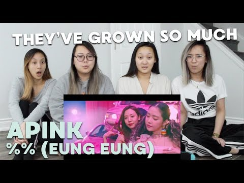 MV REACTION | Apink (에이핑크) '%% (Eung Eung/응응)'